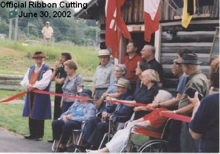 Official Ribbon Cutting  June 30, 2002